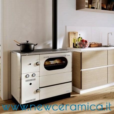 Cucina a legna idro alba palazzetti - Stufe a legna vecchie ...