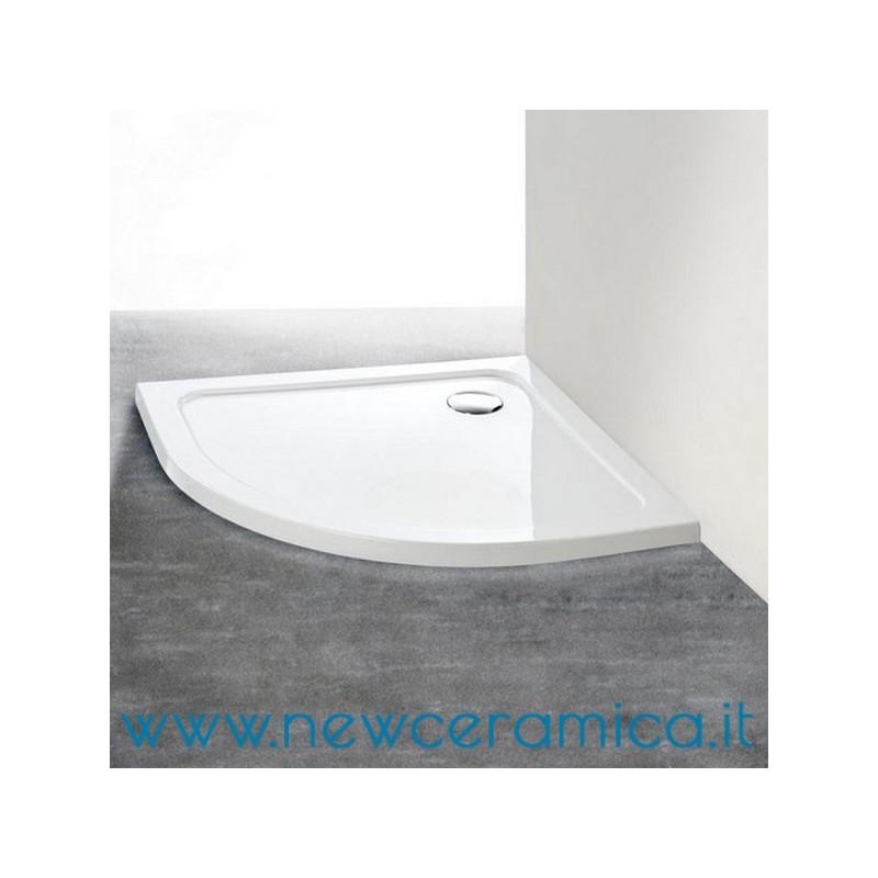 Piatto doccia semicircolare LOW h. 4cm