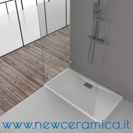 Piatto doccia surf bianco quadrato o rettangolare grandform - Box doccia resina ...