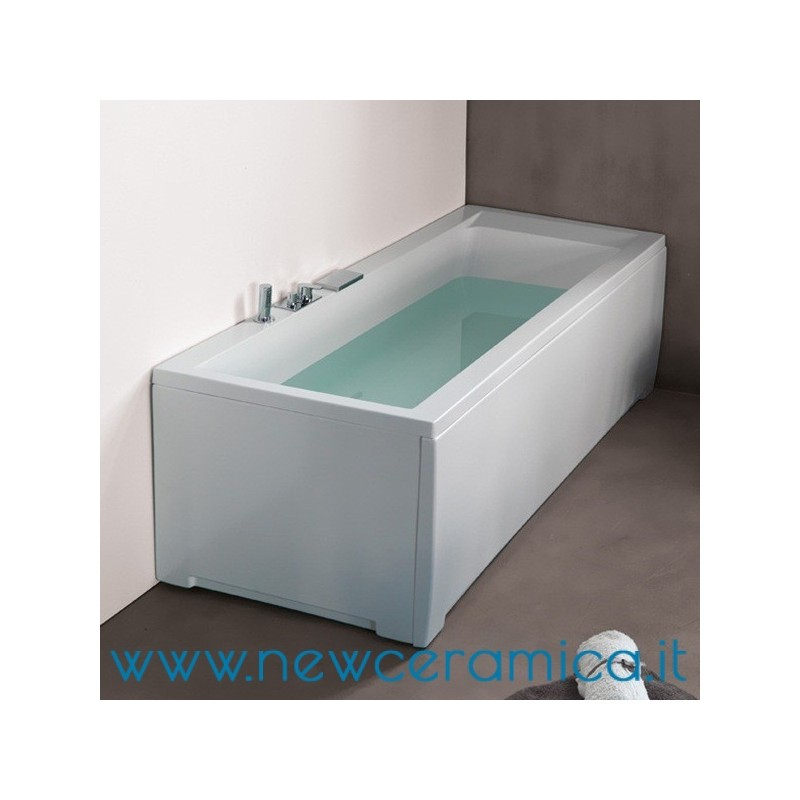 Vasca rettangolare 170x70 nuvola grandform - Vernici per vasche da bagno ...