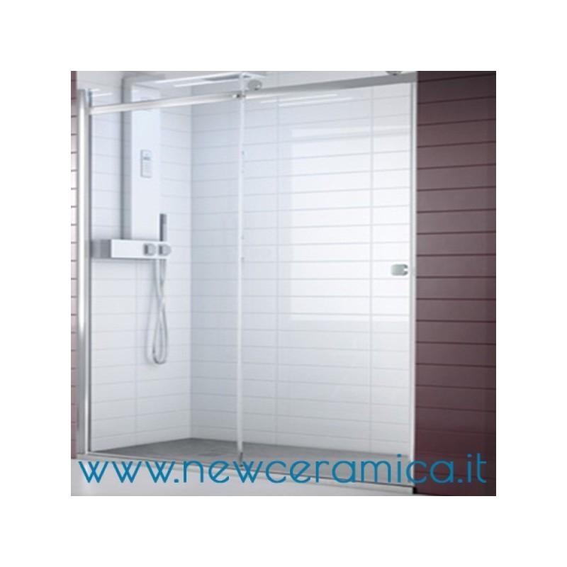 Chiusura doccia aqualight solo grandform nicchia - Porta scorrevole per doccia ...