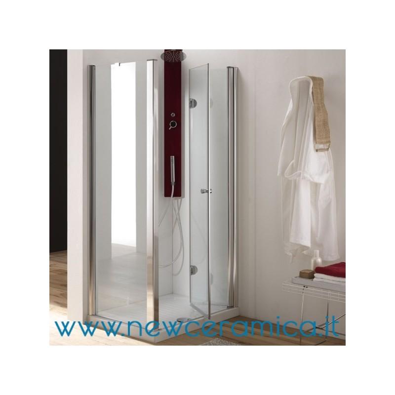 Porta doccia con apertura pieghevole modello hidra ferbox - Porta doccia pieghevole ...