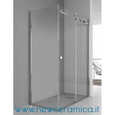 Chiusura doccia aqualight solo grandform lato fisso - Chiusura doccia scorrevole ...
