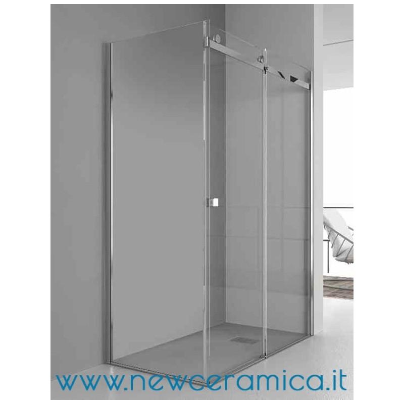Chiusura doccia aqualight solo grandform lato fisso - Chiusura per porta scorrevole ...