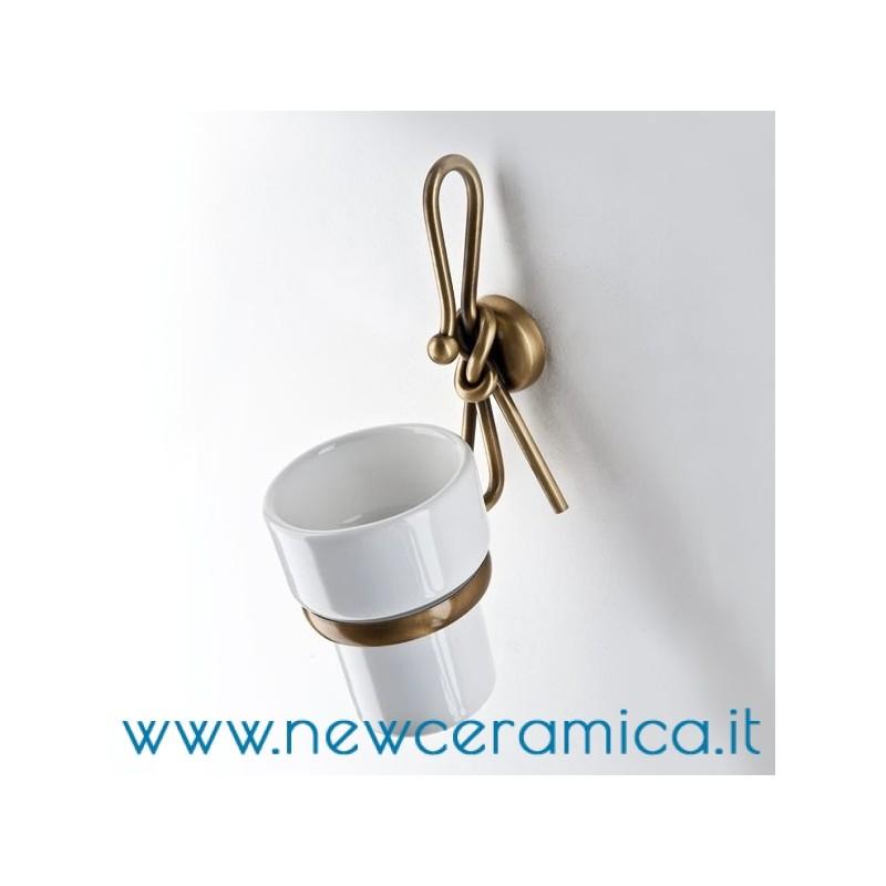 Set accessori bagno completo serie Fiocco Etrusca