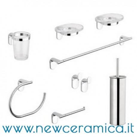 Set accessori bagno completo serie zero metaform for Accessori bagno online shop