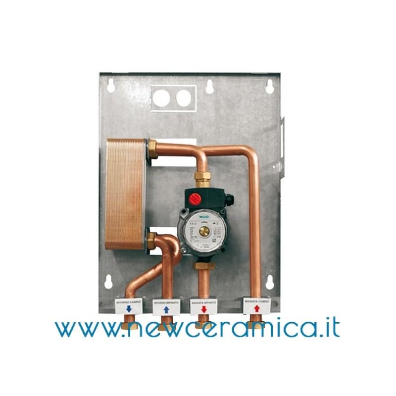 Kit p1 di separazione impianti for Disegno impianto riscaldamento a termosifoni