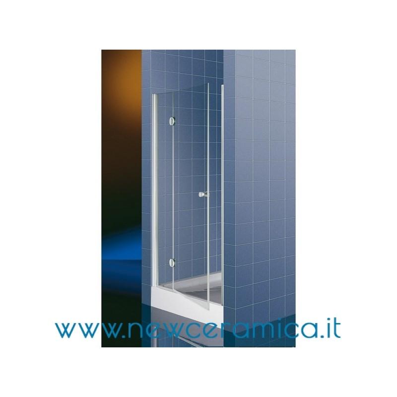 Porta doccia a battente modello artika ferbox - Box doccia porta battente ...