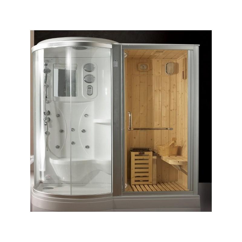 Doccia sauna idromassaggio decora la tua vita - Box doccia con sauna e bagno turco ...