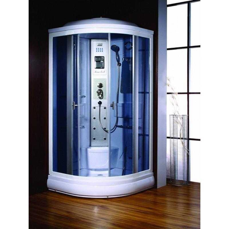 Doccia multifunzione rettangolare for Box doccia con idromassaggio