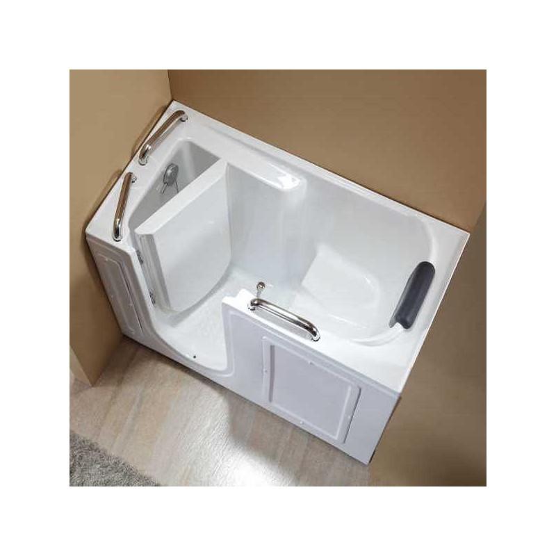 Vasca Da Bagno Con Sportello: Vasca da bagno con sportello laterale sinistro.
