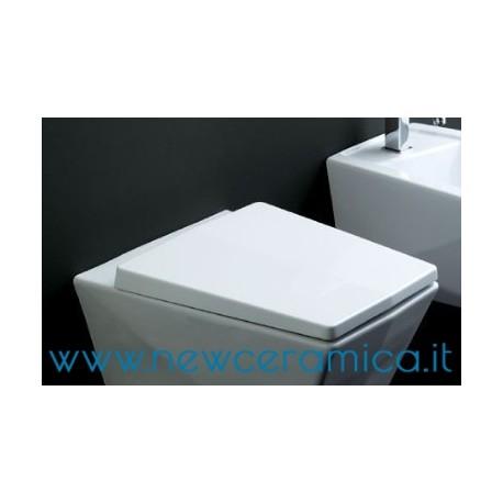 Coprivaso avvolgente termoindurente bianco serie Crystal Olympia