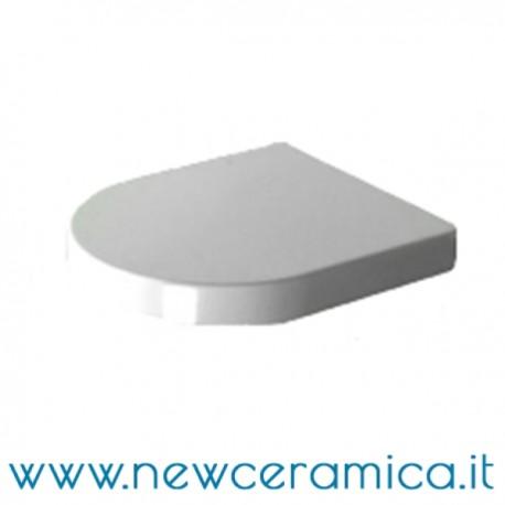 Coprivaso in termoindurente bianco serie Clear Olympia