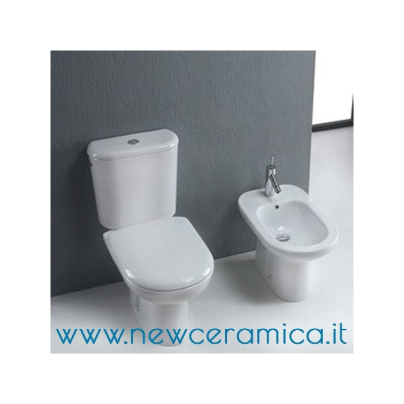 Olympia Ceramica Bidet A Terra Rubino Bidets Home Kitchen Bathroom