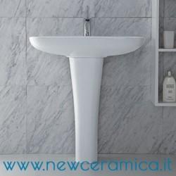 Colonna per lavabi serie Clear Olympia