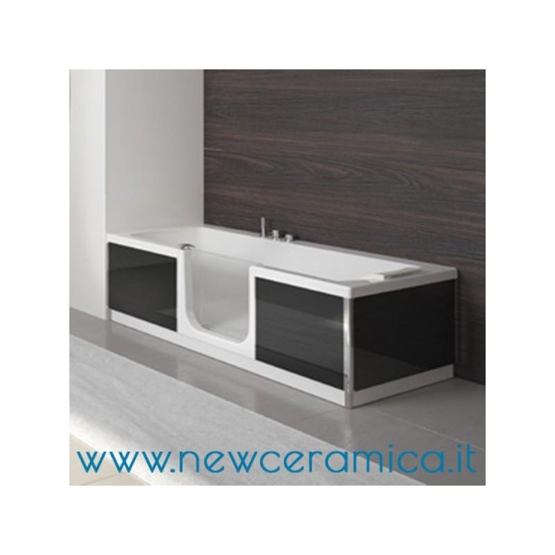 Vasca doccia combinata combilight easy 160x90 grandform newceramica - Combinati vasca doccia ...