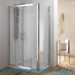 Porta box doccia scorrevole cristallo 6 mm Kama Ferbox