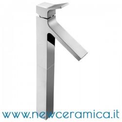 Miscelatore monocomando alto cromo per lavabo serie Young Palazzani