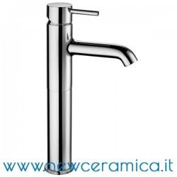 Miscelatore monocomando alto cromo per lavabo serie Mimo Palazzani