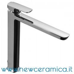 Miscelatore monocomando alto cromo per lavabo serie Mis Palazzani