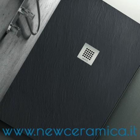 Piatto doccia Ardesia texturizzato cemento 80x120
