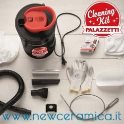 Kit per la pulizia delle stufe a pellet
