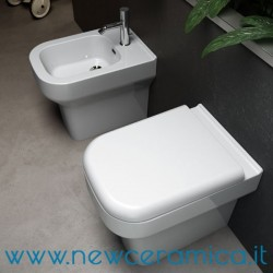 Bidet a terra serie Synthesis Olympia