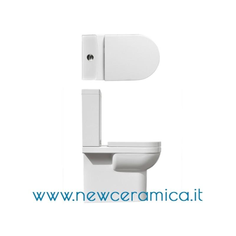 Vasi Monoblocco In Ceramica.Vaso Monoblocco Serie Smart Ceramica Althea