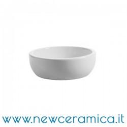 Lavabo appoggio bacinello tondo Ø 41 CeramicaOlympia