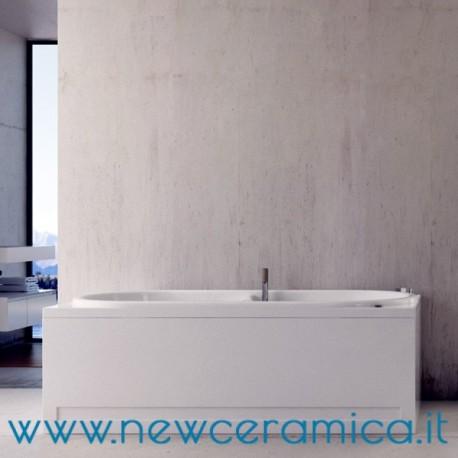 Vasca Da Bagno 170 X 80.Vasca Idromassaggio Erica 170x80 In Acrilico Relax Design