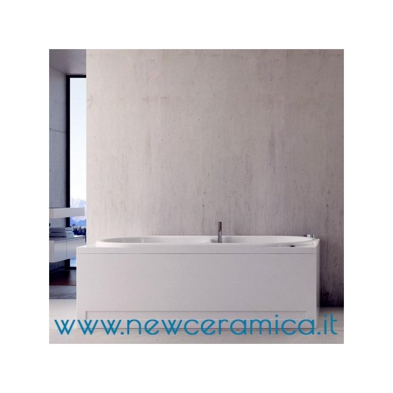 Vasca idromassaggio capri 150x70 in acrilico relax design - Vasca acrilico ...