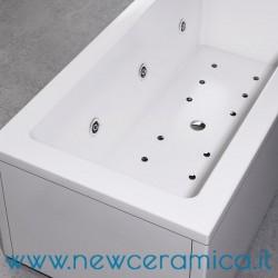 Vasca idromassaggio La Quadra 180x80 in acrilico Relax Design