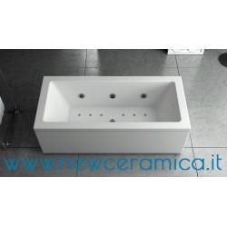 Vasca idromassaggio La Quadra 180x100 in acrilico Relax Design