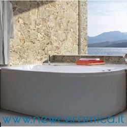 Vasca idromassaggio pneumatica asimmetrica con pannello Neo 170x70x78 Relax Design