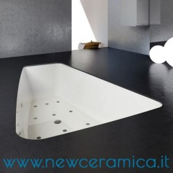 Vasca idromassaggio asimmetrica Sabrina 150x100 Relax Design