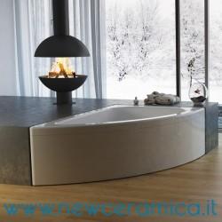 Vasca idromassaggio asimmetrica Sofia 150x100 Relax Design