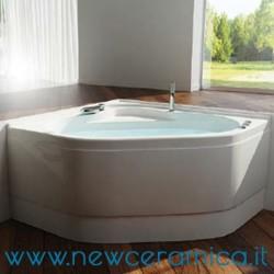 Vasca idromassaggio angolare Camelia 120x120 Relax Design