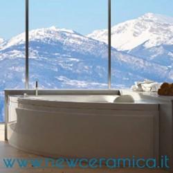 Vasca idromassaggio angolareNiagara 140x140 Relax Design