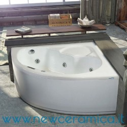 Vasca idromassaggio angolare Vittoria 130x130 Relax Design