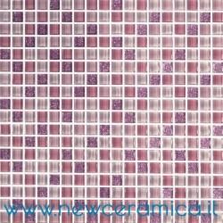 Mosaico in vetro serie Star Viola Italian Trend