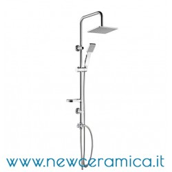 Set colonna docccia quadra Damast