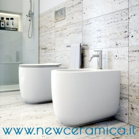 WC a terra rimless serie Milady Olympia