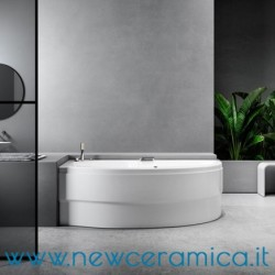 Vasca idromassaggio asimmetrica Simy 160x85x100 Relax Design