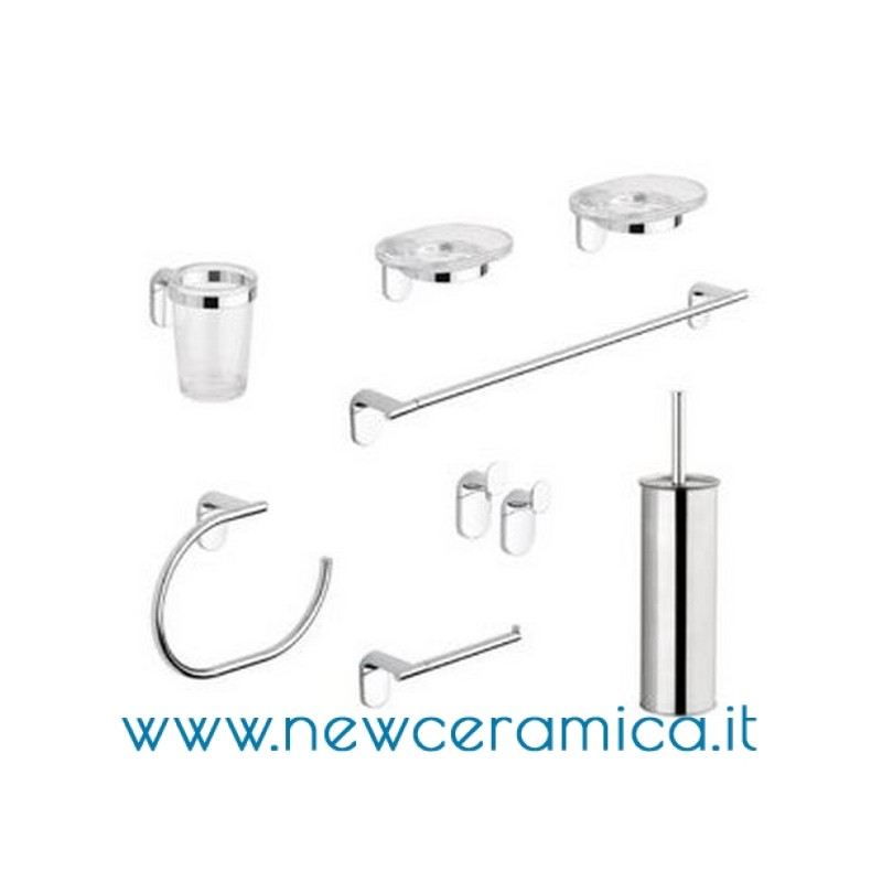 Set accessori bagno completo serie zero metaform for Accessori bagno online