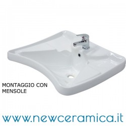 Lavabo ergonomico confort