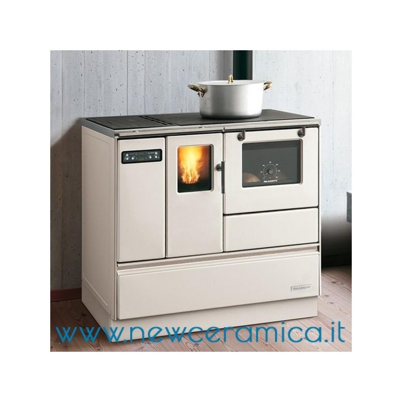 Cucina a pellet ornella 8 2 kw palazzetti - Termocucine a pellet prezzi ...