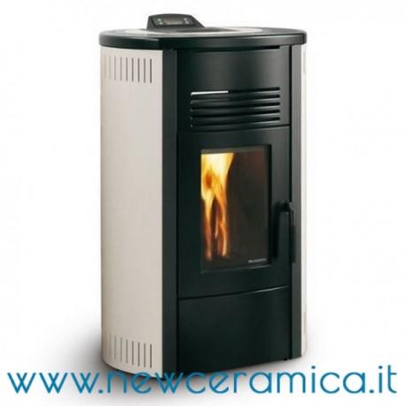 Stufa a pellet ecofire idro carlotta 15 kw palazzetti for Stufa pellet usata 300 euro