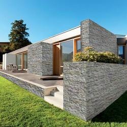 Rivestimento in pietra Montebello Cromite linea Tradition Biopietra
