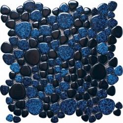 Mosaico marmo serie Silex cobalto Italian Trend