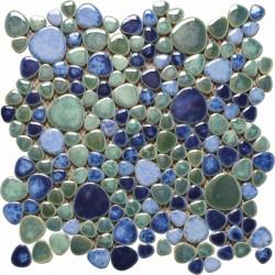 Mosaico marmo serie Silex azzurro Italian Trend